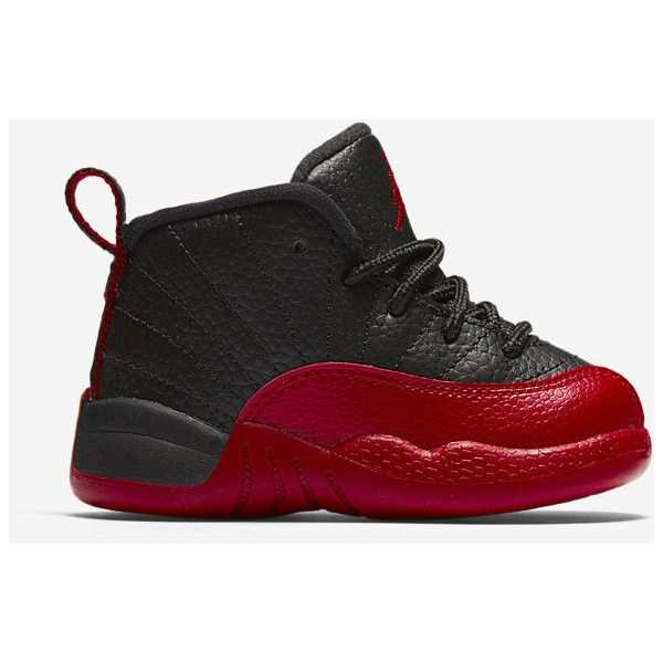b16553162bdfc2 Air Jordan Retro 12 (2c-10c) Infant Toddler Shoe. Nike.com ( 60) ❤ liked on Polyvore  featuring kid shoes