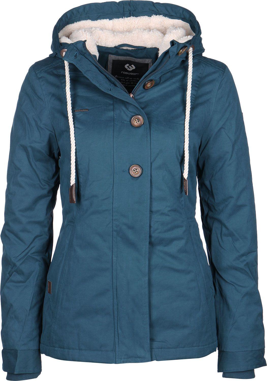 Ragwear Lynx W winterjas | Winterjas, Jas, Blauw