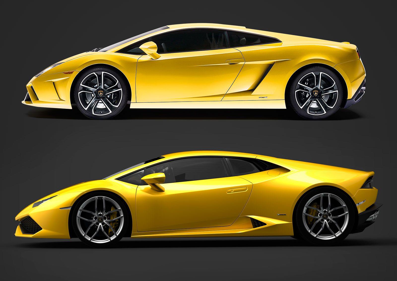 Lamborghini huracan vs gallardo