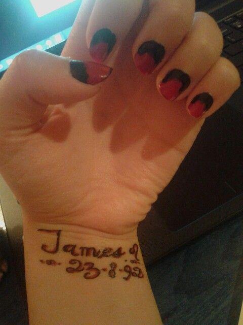 James tatto design (leo)
