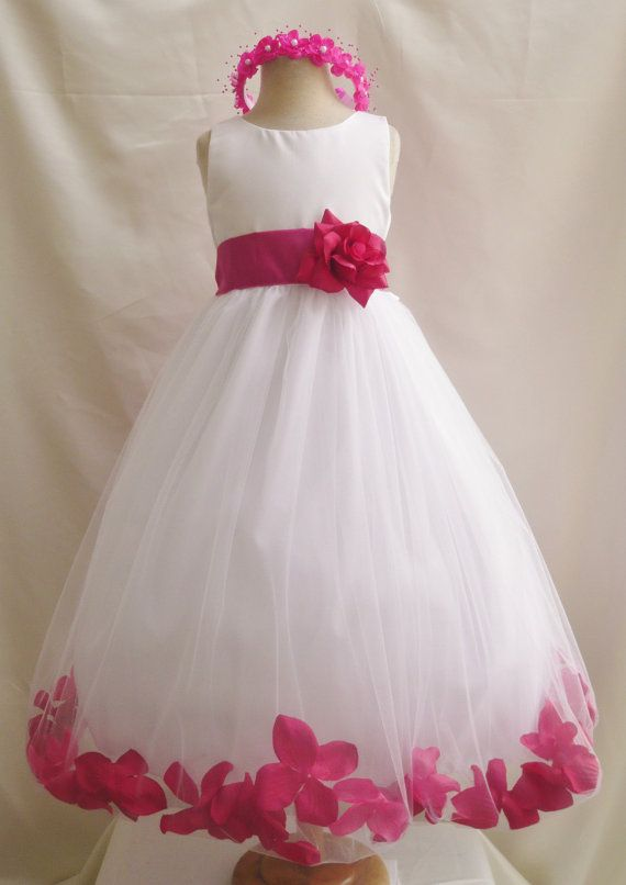 Rose petal dress ivory flower girl dress by mykidstudio on etsy rosepetal dress ivory flower girl blue royal navy turquoise brown burgundy fuchsia green sage guava lilac orange pink purple red teal silver on wanelo mightylinksfo