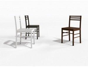 Pesaro sedia legno idee per decorare la casa e sedie for Decorare sedia legno