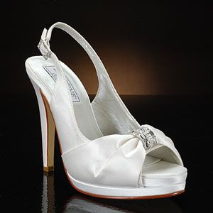 liz rene danielle-776 white & ivory  Wedding Shoes