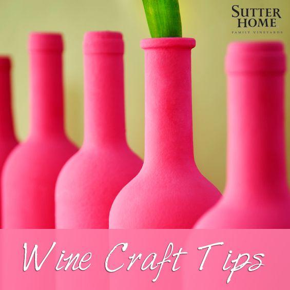 Wine Bottle Crafts – Tips