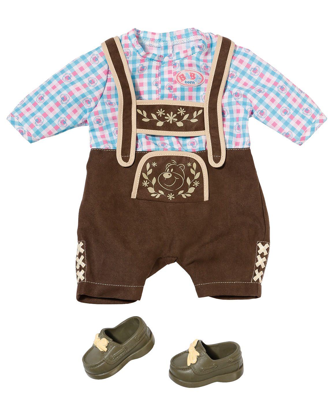 Baby Born Ubranko Dla Lalki Spodenki Ludowe 6730193763 Oficjalne Archiwum Allegro Baby Born Bavarian Costume Clothes