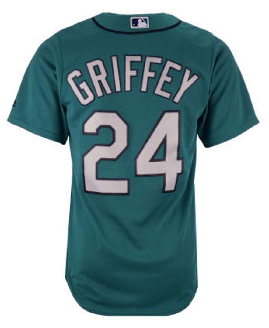 quality design a0291 63a37 Ken Griffey Jr. Seattle Mariners Player Replica CB Jersey ...