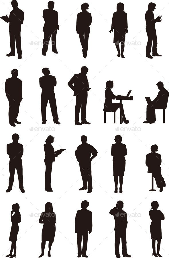 Business People Silhouette Silhouette People Silhouette Architecture Silhouette