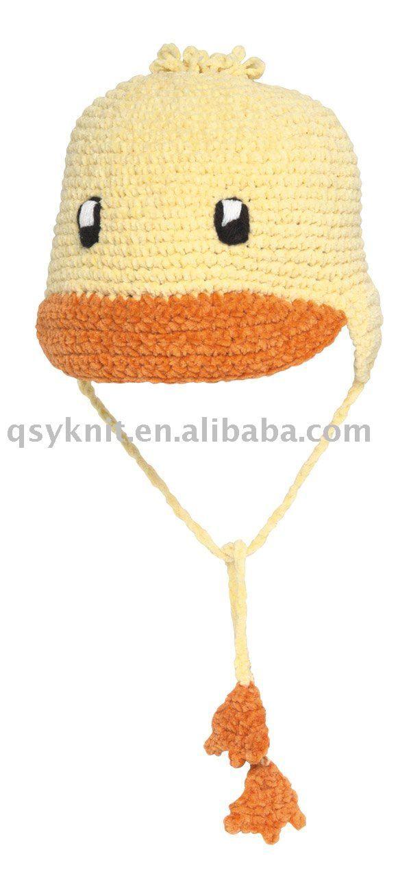DUCK crochet winter hat ... | Hüte und Mützen | Pinterest | Hüte und ...