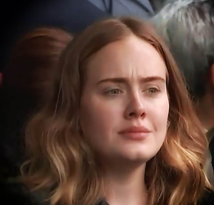 """Adele at Grenfell Tower One Year Anniversary - Joining in on song """"Lean On Me"""". Lets hope they are able to bring all building apartments up to required standards. Too many lives lost!! Hayward Simmons."""