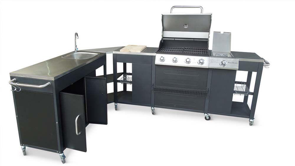 20 mod les de cuisines d ext rieur abordables le jardin secret pinterest cuisine exterieur - Espace cuisine rochefort ...