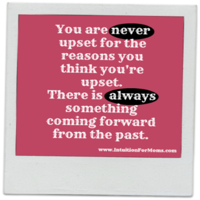 You are never upset for the reason you think you are. - Iyanla Vanzant #quote I surely learned that lesson!
