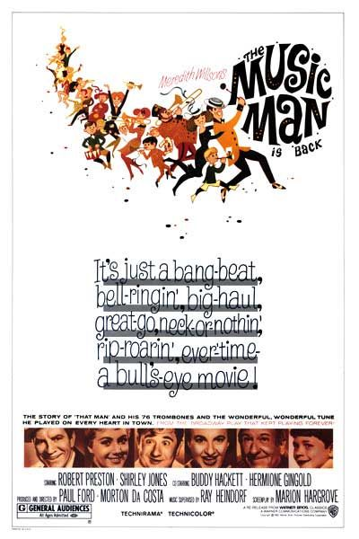 "Classic 60s Movie: ""The Music Man"" 