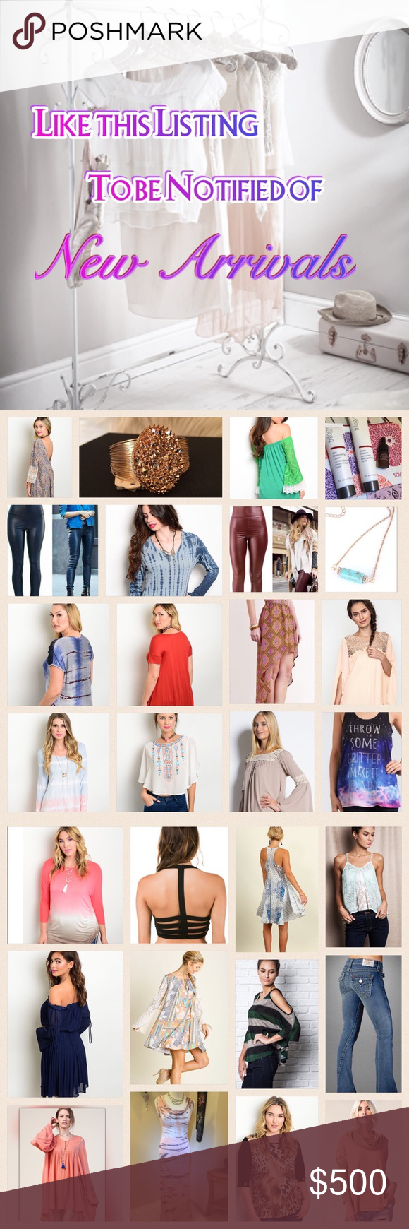 ✨New Arrivals Sign Up List✨ Please like this listing or tag me below if you'd like to be notified of New Boutique Inventory or Items I list to my Personal Closet. I will be adding new listings weekly....Don't forget to use the 'Add to Bundle' feature to also save 20% off any 2+ items in my closet! Thanks to you, I've been able to be successful at this place I love...❤️Poshmark❤️ LDB Other