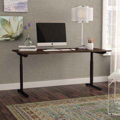 Latitude Run Chwalinski Height Adjustable Standing Desk Colour