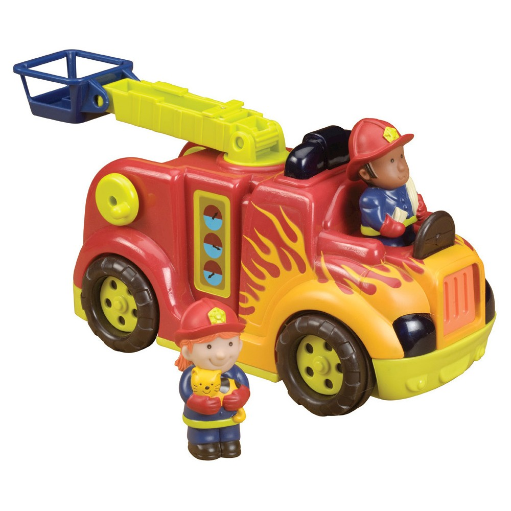 Baby toys car  B Rrroll Models Fire Flyer Electronic Toy Fire Truck  Products