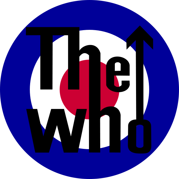 the who logo one of mcintyre s favorite things art pinterest rh pinterest ca create a band logo for free make a band logo in photoshop