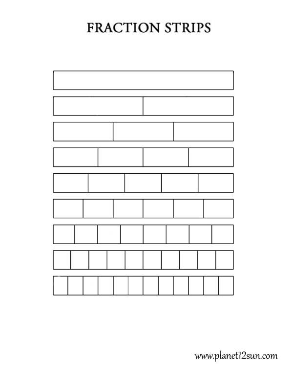 Fraction Strips (blank) Worksheets Pinterest Worksheets   Free Bar Graph  Templates  Bar Graph Blank Template