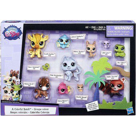 Littlest Pet Shop A Colorful Bunch Walmart Com Little Pets Lps Pets Little Pet Shop Toys