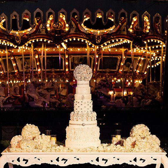 Todays Wedding Cake Wednesday Is A Nine Tier Stunner At Disneyland