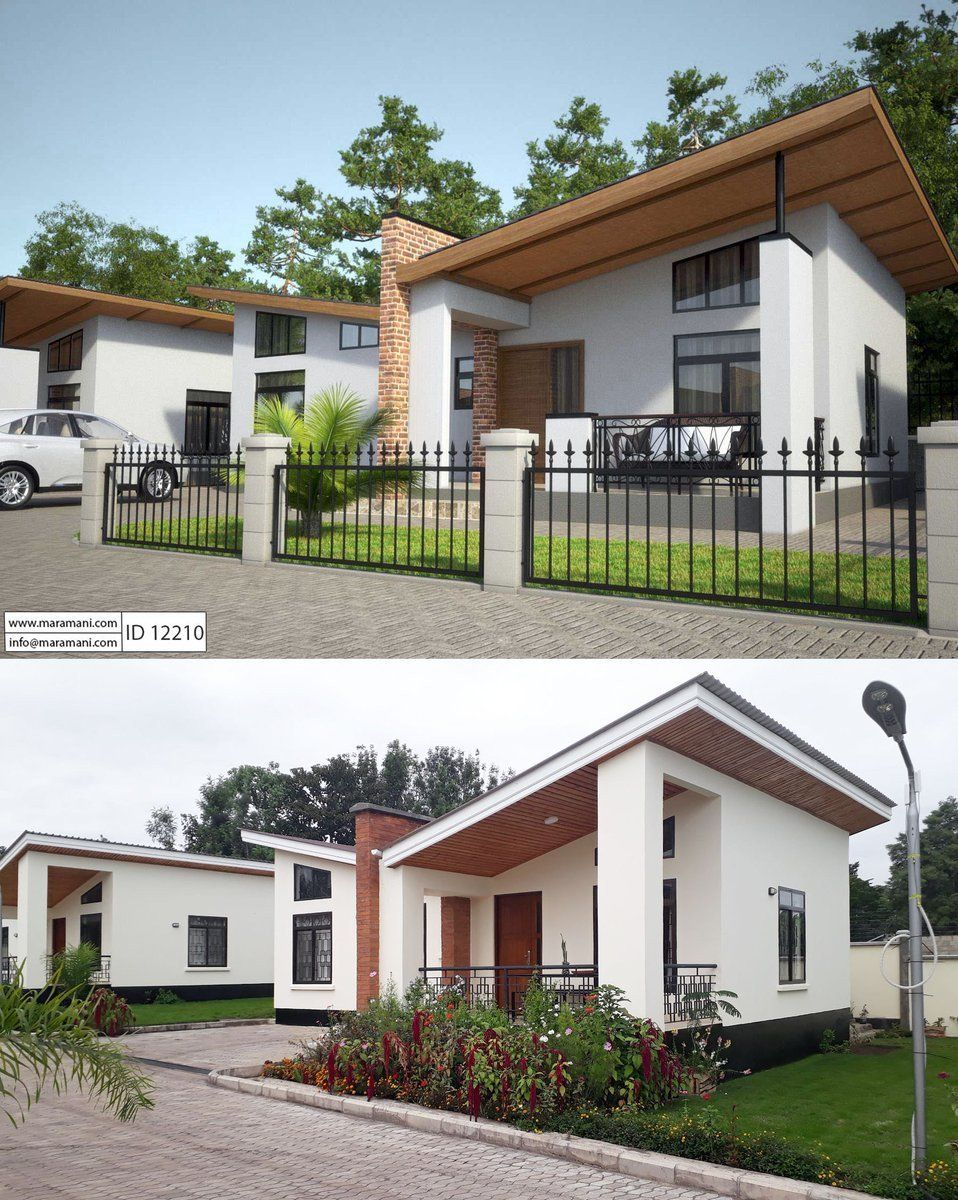 Modern House Designs In Tanzania Maramani House Plans On Twitter Get Inspired House Plan In 2020 Modern House Design Modern House Simple House Plans