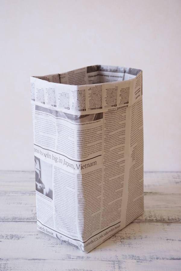 """Photo of Praktisch zum Campen und Grillen! Einfacher Mülleimer mit Zeitung gemacht: Chihiro Kubota Photo Styling Web Magazine """"Klastyling"""""""