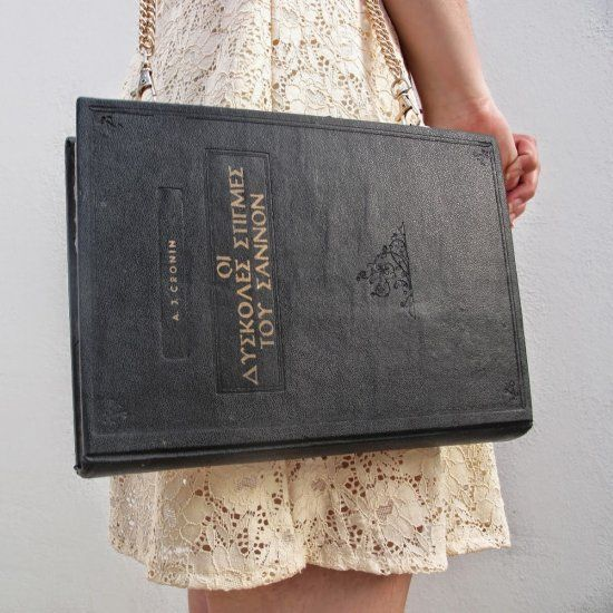 Learn how to make this cute book purse out of an old book.Make every outfit unique and classy.