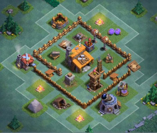Star Designs Gadget Base Tips Clash Of Clans Th Level