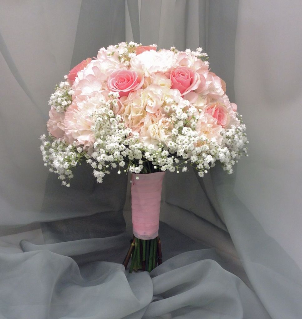 Pink roses bridal bouquet images for Wedding bouquets