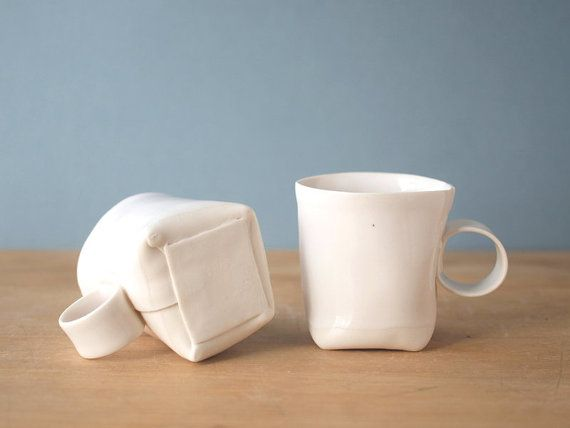folded porcelain cups... another thing I need to figure out how to do!
