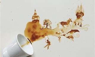Cuadros Pintados Con Café | Arte - Todo-Mail