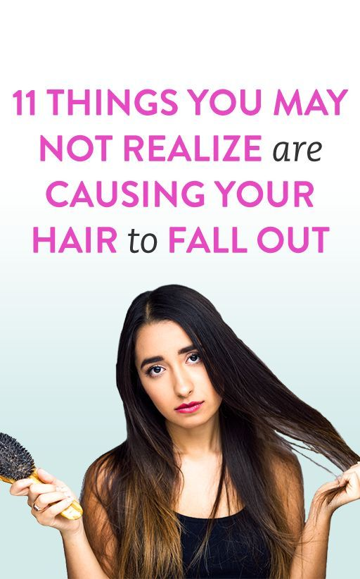 11 Things You May Not Realize Are Causing Your Hair to ...