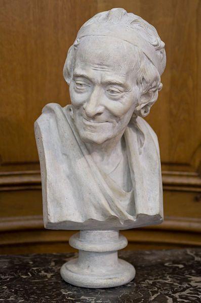 3. Jean Antonie Houdon, Bust of Voltaire
