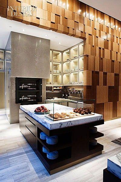 David rockwell 39 s andaz rocks wall street cocina for Proposito del comedor buffet
