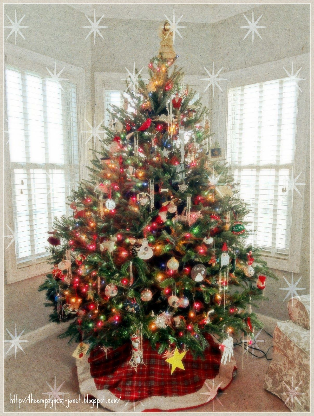 Old-Fashioned Christmas Decorations | The Empty Nest: Our ...