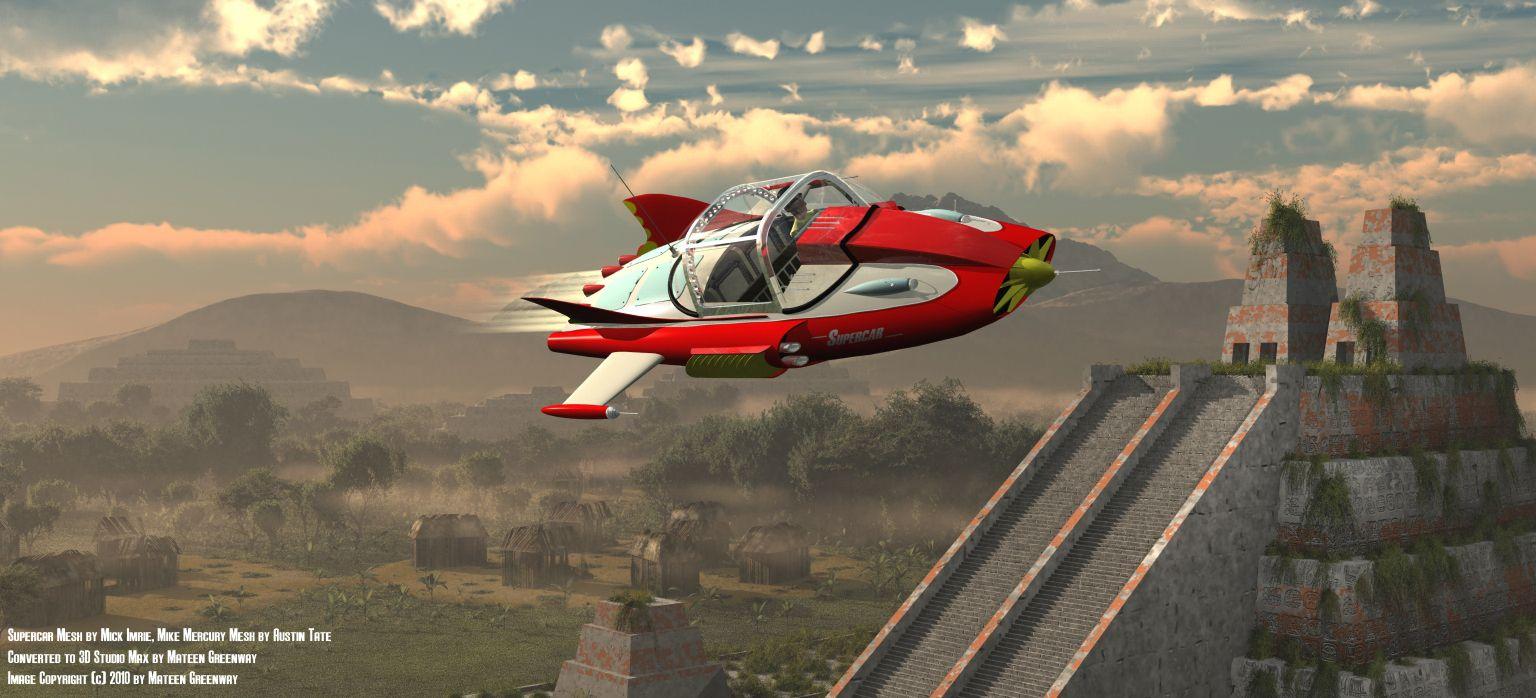 Sc Aztec6a Jpg 1 536 698 Pixels Gerry Anderson Fantastic Show Super Cars