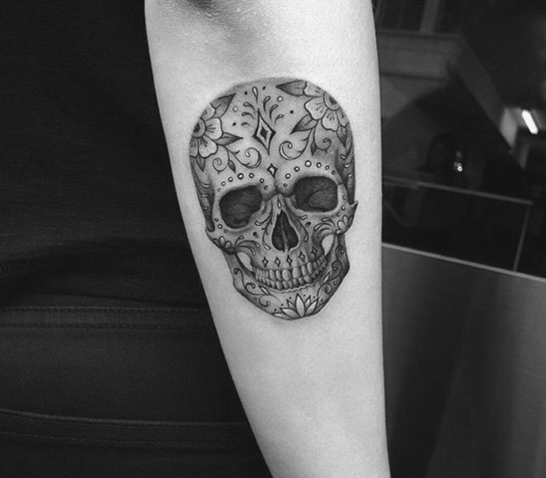 Pin by Allie Szuba on Tattoos Candy skull tattoo