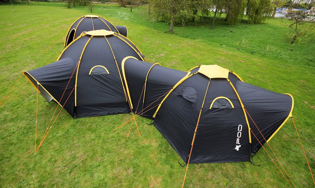Modular POD tents connect to create multi-room camping getaways for ...