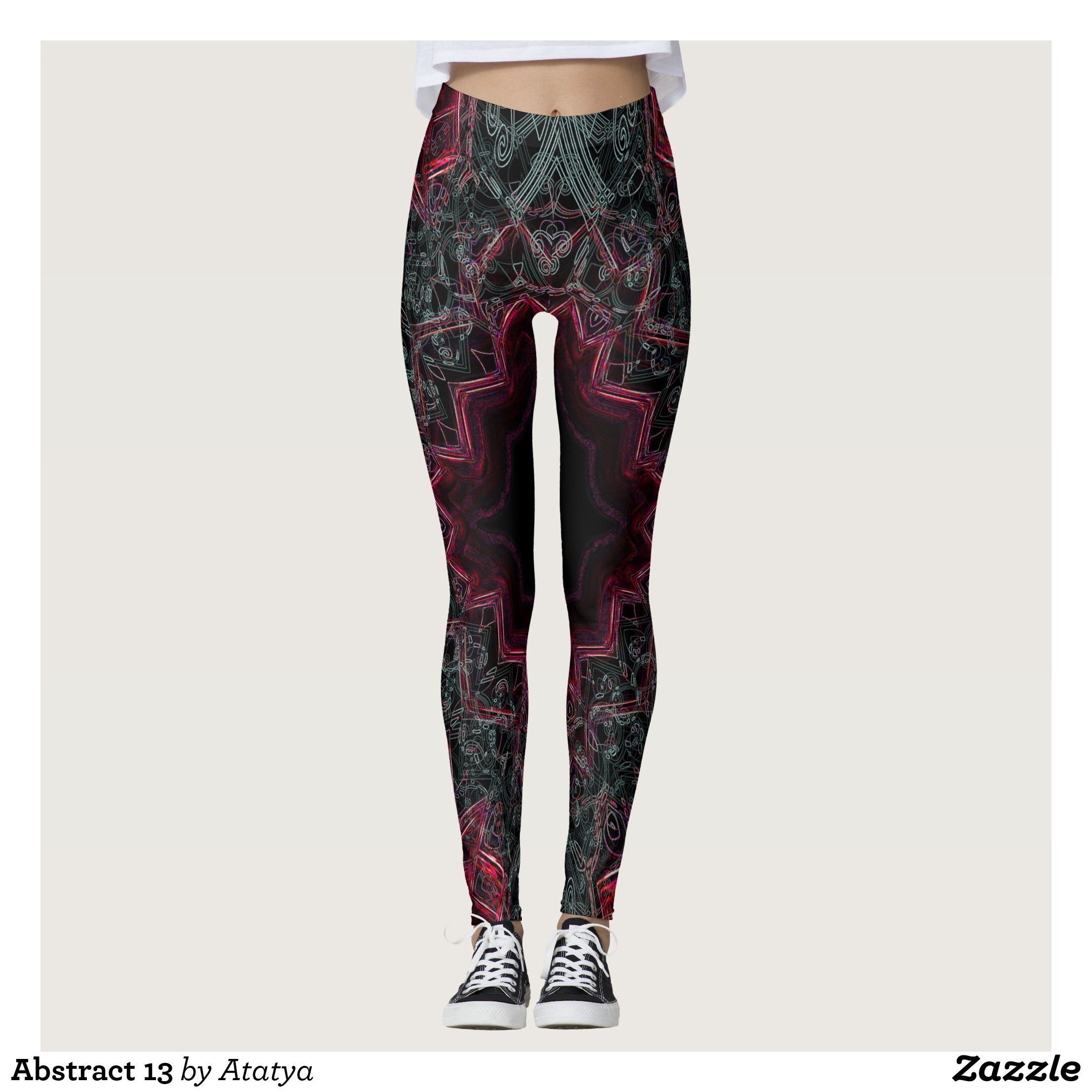 4376e09478cce Abstract 13 leggings : Beautiful #Yoga Pants - #Exercise Leggings and #Running  Tights - Health and Training Inspiration - Clothing for #Fitspiration and  ...