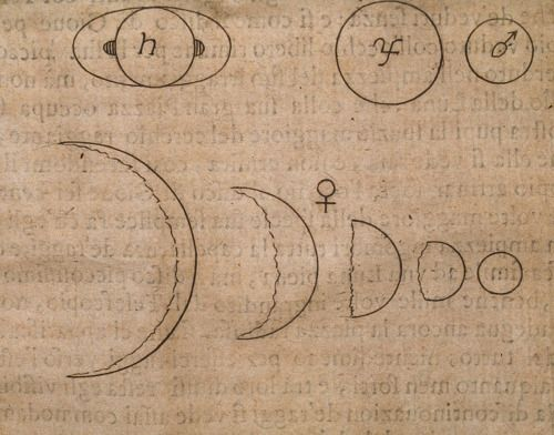 observaciones hechas por galileo galilei sobre las fases de venus desde su telescopio en 1610 - Tabla Periodica De Los Elementos Quimicos Galilei