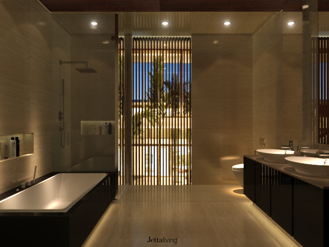 Bathroom Design Jakarta pik. ebony cluster. north jakarta. indonesia. #interior #design