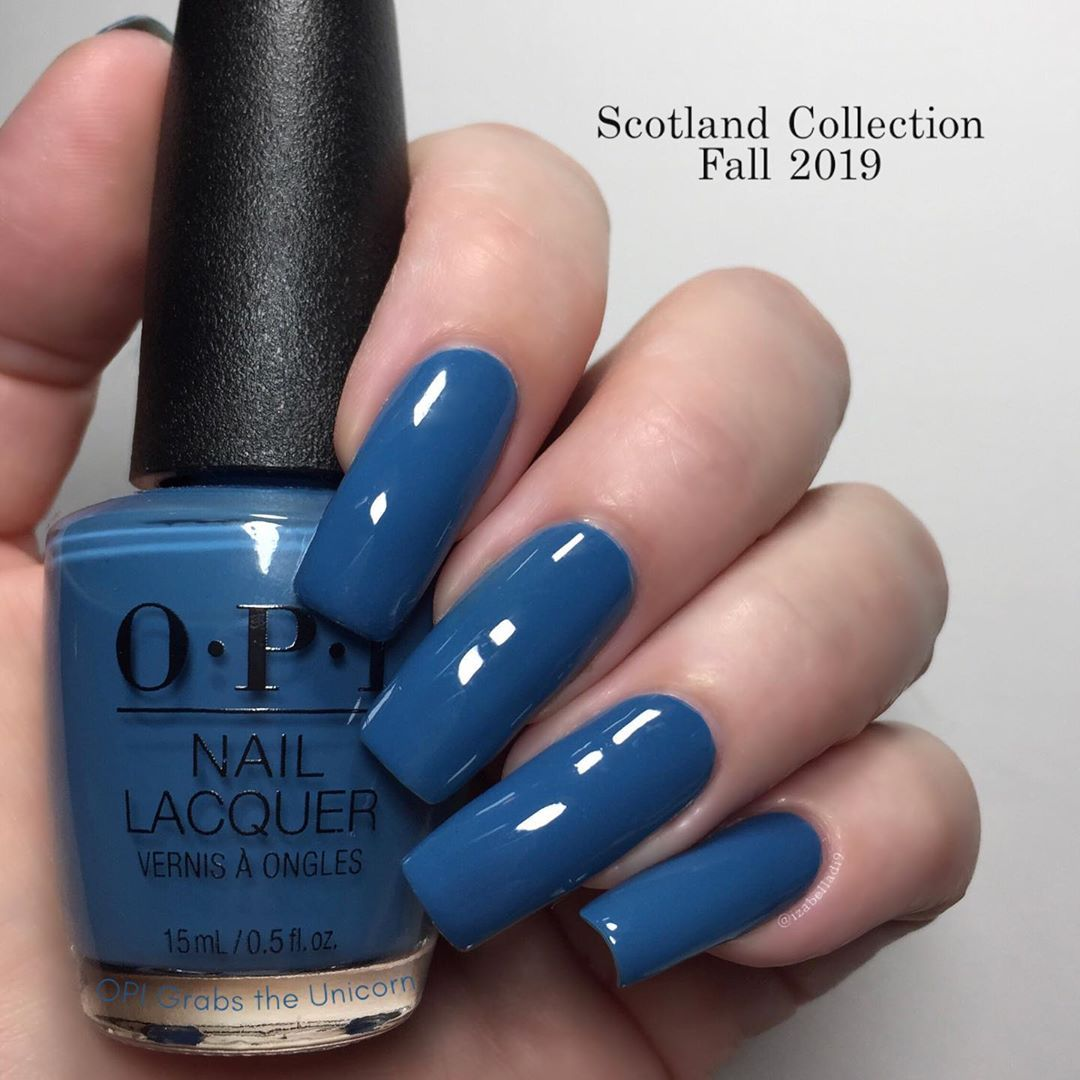 This Is Opi Grabs The Unicorn By The Horn From Opi Scotland Fall