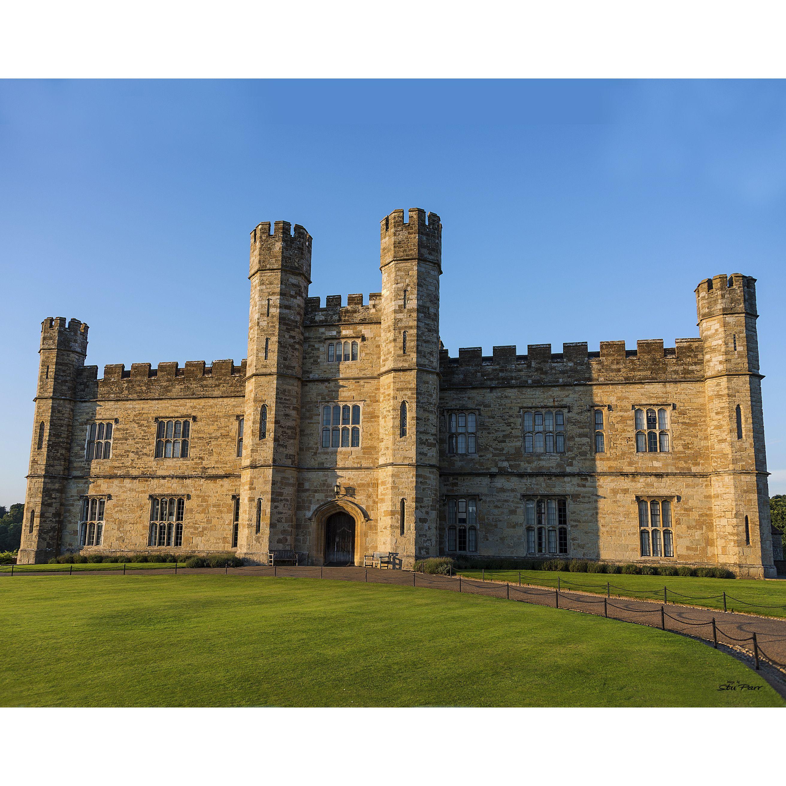 Pretty Places Leeds: Stewart Parr 'Leeds Castle At Sunset Near Kent England