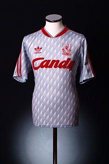 1989 1991 Liverpool Away Shirt Classic Football Shirts Retro Football Shirts Football Shirts