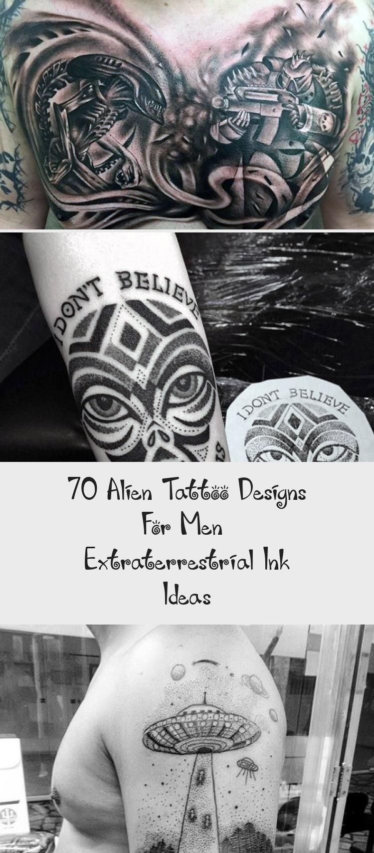 Creative Alien Abuduction Mens Forearm Sleeve Tattoo With Negative Space Design   Creative Alien Abuduction Mens Forearm Sleeve Tattoo With Negative Space Design