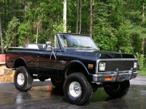1972 Blazer Convertible