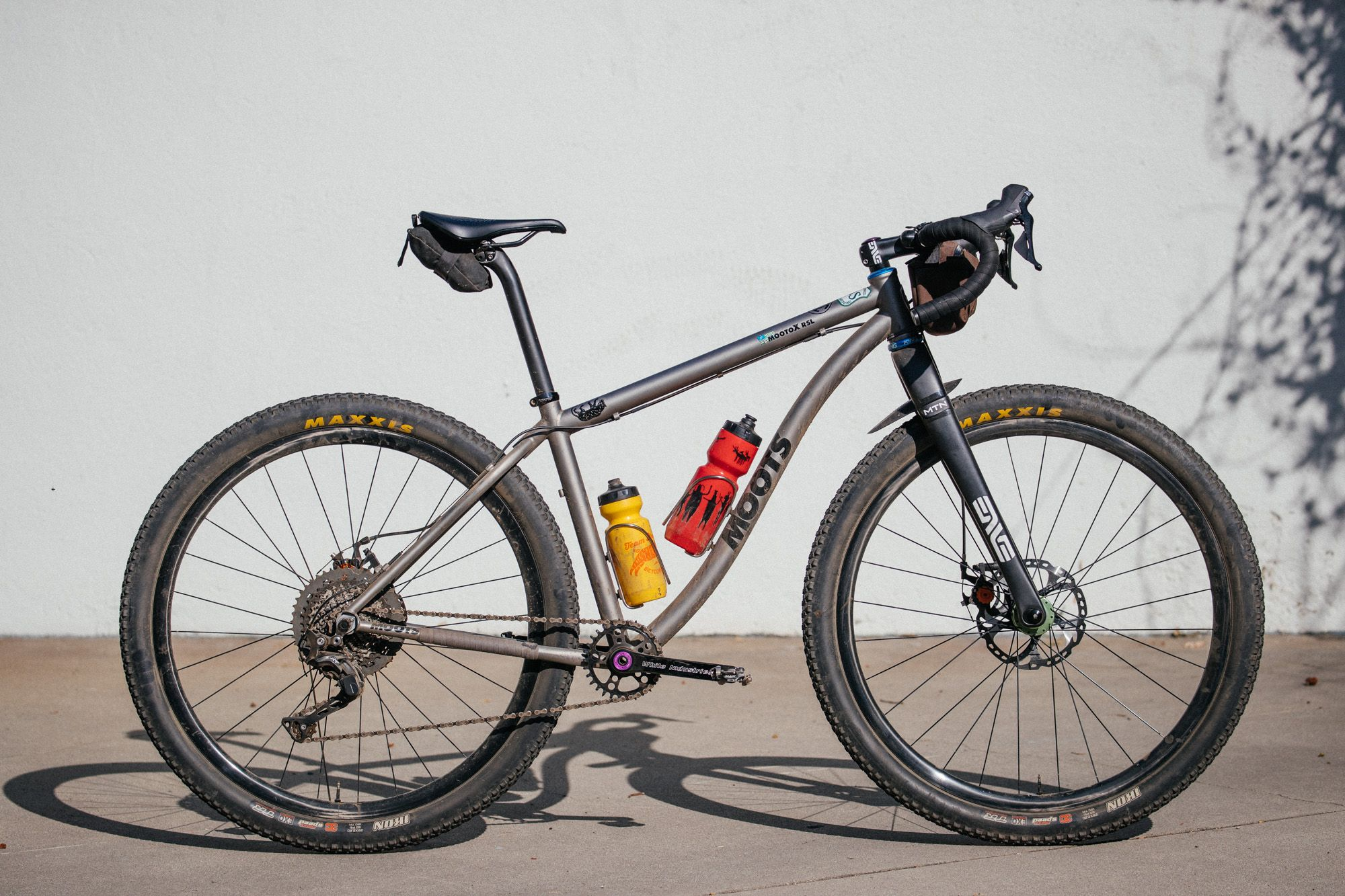 Drop Bars Make It Hot Mike S Moots Mooto X Rsl Dirt Drop Mtb Titanium Bike Touring Bike Gravel Bike