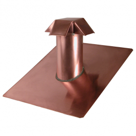 Copper Roof Jack Vent Copper Roof Roof Copper Gutters