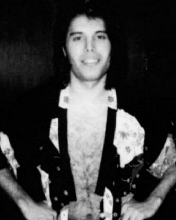 Freddie Mercury. Queen. 1970s. (rare photo)