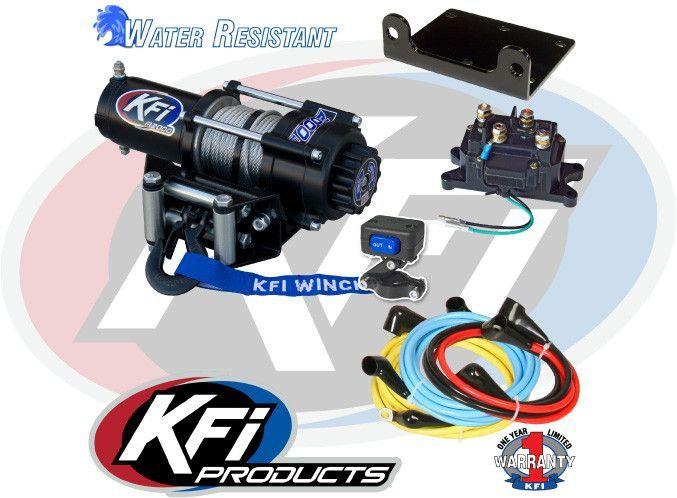 kfi atv winch 2000lbs a2000 atv winch and products rh pinterest com