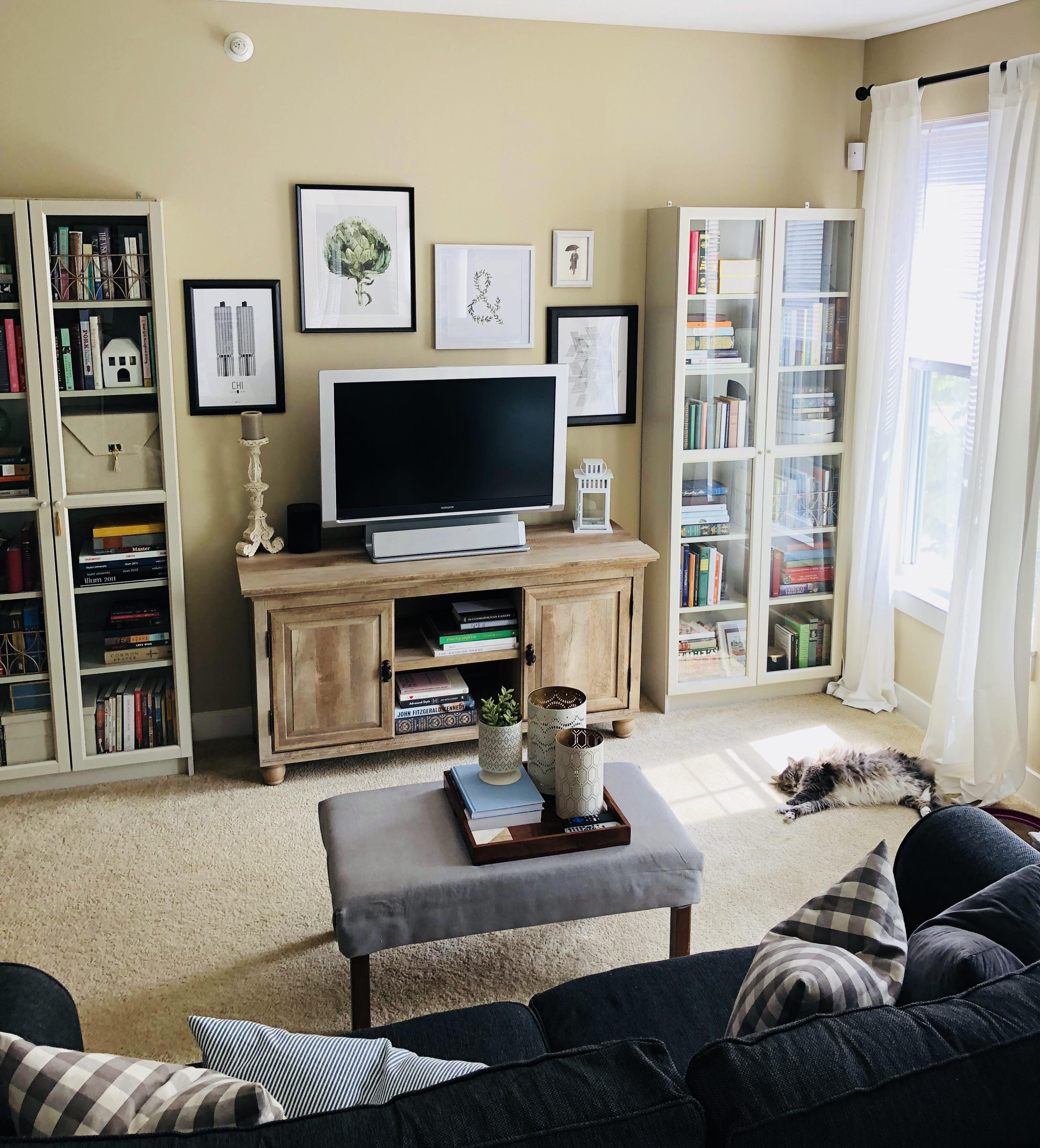 we have slowly been transitioning our living room from the